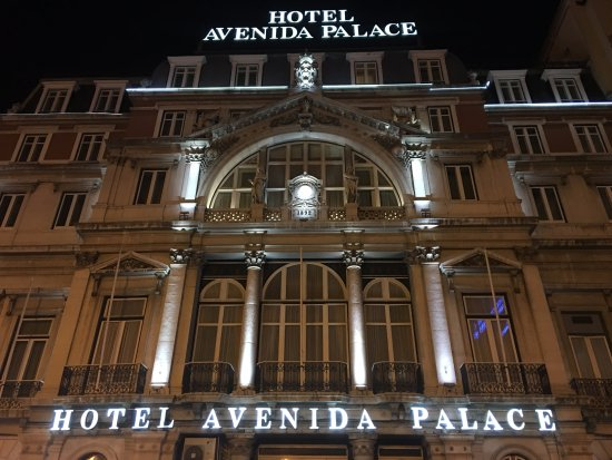 view from room 422 picture of hotel avenida palace. Black Bedroom Furniture Sets. Home Design Ideas