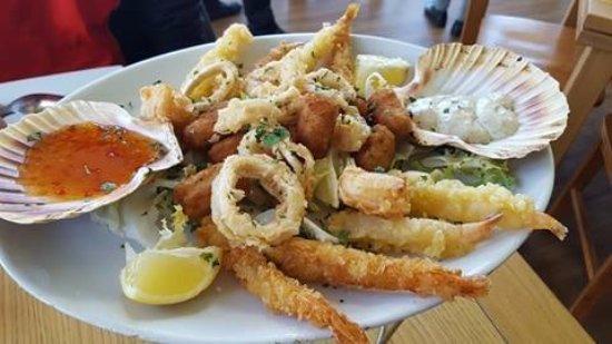 Edith Weston, UK: sea food platter