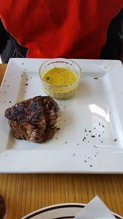 Edith Weston, UK: steak