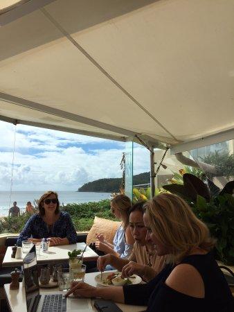 Season Restaurant: park and ocean views