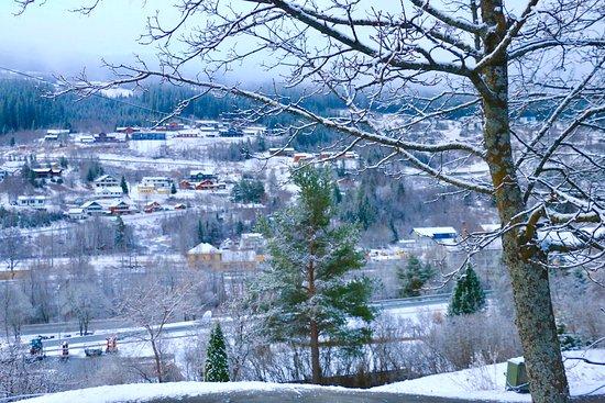 Al, Norwegia: outside hotel view