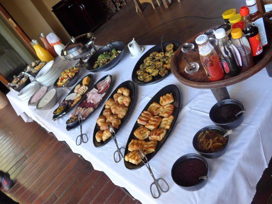 Sanctuary Makanyane Safari Lodge : Breakfast spread