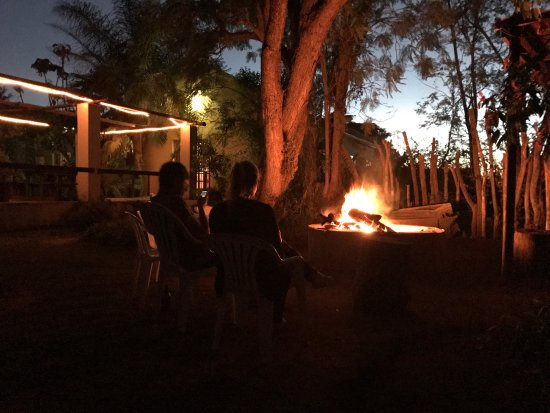 Addo, Güney Afrika: Everynight a bonfire, before the stars appear and light all the sky.  Amazing place, close to th