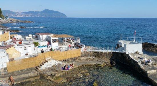 Bagni Blue Marlin Nervi : Vista del locale picture of blue marlin genoa tripadvisor