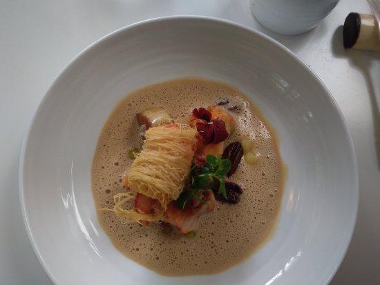 Arcangues, Frankrijk: homard avec emoussé de foie gras