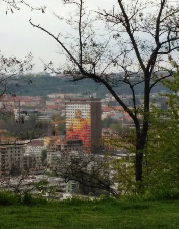 Olympik Hotel Prague: Вид на отель