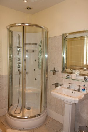 Saltcote Place Rye : Massaging jet shower