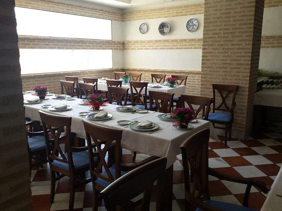 Montilla, Spania: Salón-comedor