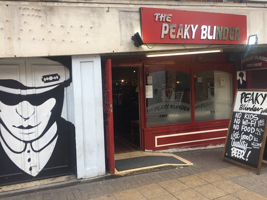 The Peaky blinder pub