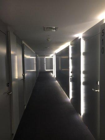 pasillos iluminados de forma futurista picture of