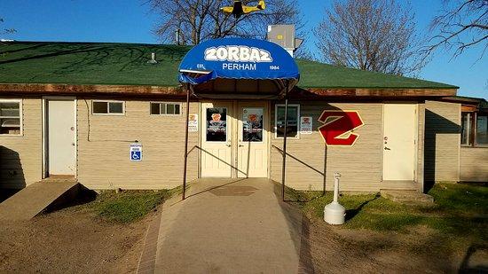 Perham, MN: Zorbaz on Little Pine Lake