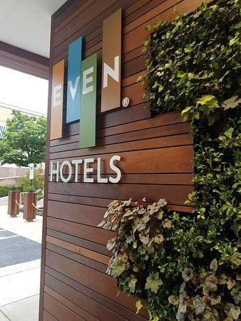 breakfast menu picture of even hotel rockville. Black Bedroom Furniture Sets. Home Design Ideas