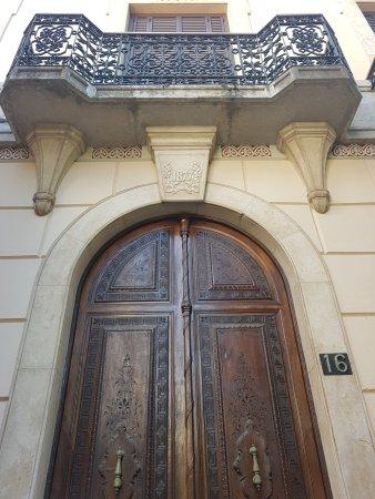Casa Museu Can Font : Puerta calle