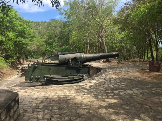 The Old Artillery Field Sao Mai - Nui Lon