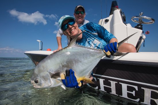 Dream Catcher Charters: Wow! What a day this was. Permit on the flats o Key West.