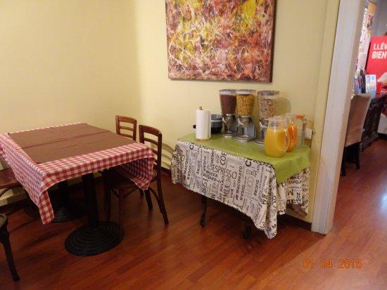 Casa Consell: breakfast