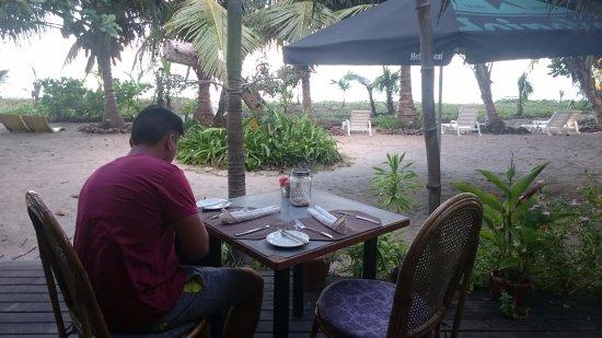 Anse Royale, Seychellen: déco et vue aux Dauphins Heureux
