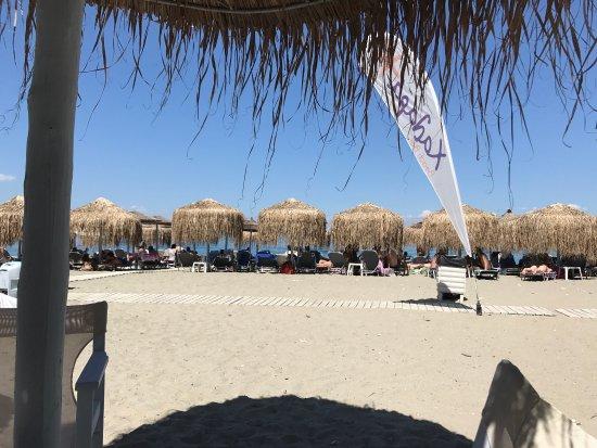 Paralia Panteleimonos, Grecia: Beach bar Χαλαρα