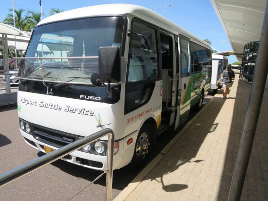 no bus picked me up - Darwin Airport Shuttle, Darwin