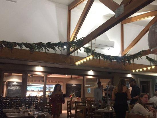 Ulladulla, Australia: Inside the restaurant