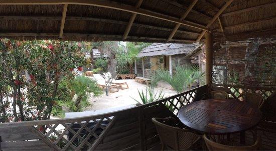 Kon Tiki Riviera Villages : Nice weekend at Kon Tiki, high standard camping resort with good facilities and wonderful beach.