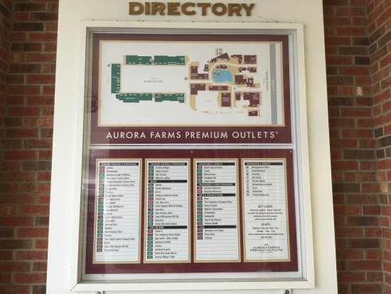 Αουρόρα, Οχάιο: Aurora Farms Premium Outlets