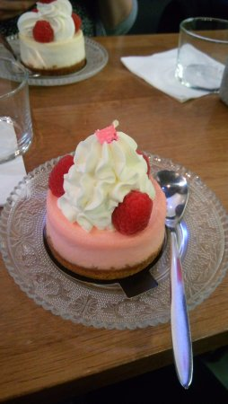She's cake : Cheesecake à la rose