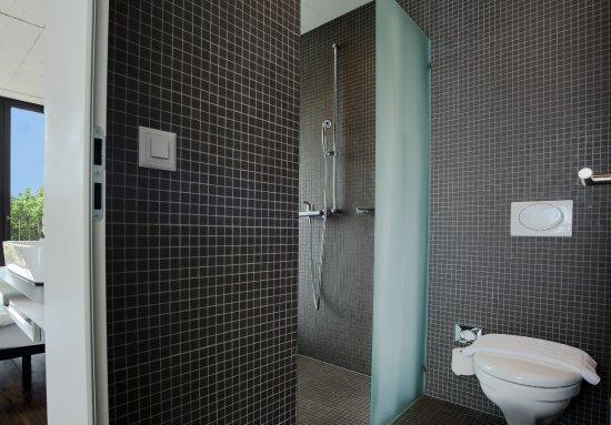 walk in dusche bild von hotel kreuzlingen am hafen. Black Bedroom Furniture Sets. Home Design Ideas