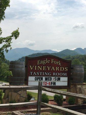 Hayesville, NC: Entrance sign