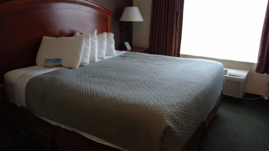 Days Inn by Wyndham Manitou Springs: Nice bed with comfy pillows