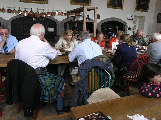 Glamis, UK: Vecchie cucine ora ristorante