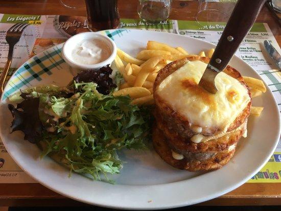 "Viriat, Francia: Burger ""Boucher"""