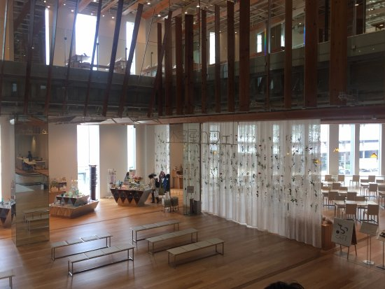 2F Meseum Shop & Cafe - Picture of Toyama Glass Art Museum, Toyama - Trip...