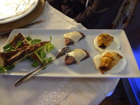 Donnas, Włochy: antipasto caldo per 2