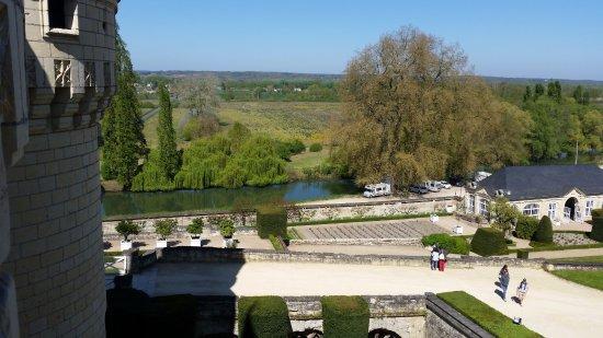 Rigny-Usse, France: Vue sur l'Indre