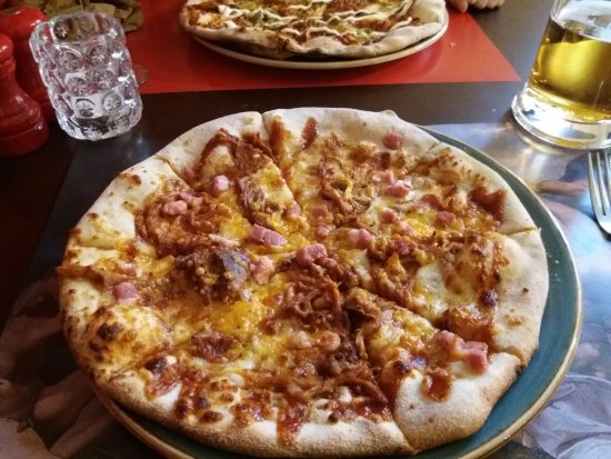 Hickory Piglargejpg Picture Of Buca Di Pizza Leeds
