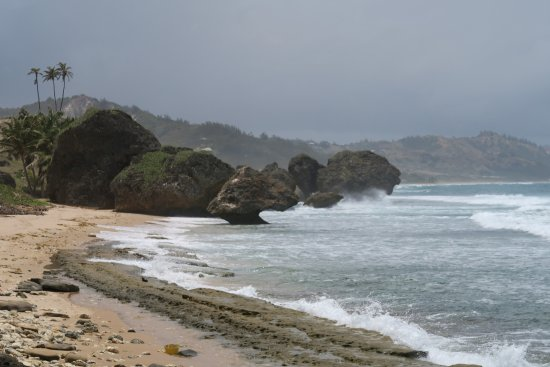 Bathsheba, Barbados: Rough Waters