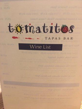 Tomatitos Tapas Bar: photo2.jpg