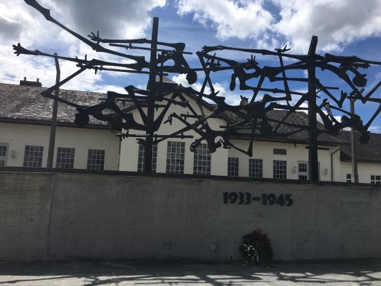 Dachau Tour In Their Shoes