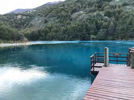 Puerto Bertrand, Chile: Paisaje y lodge maravilloso