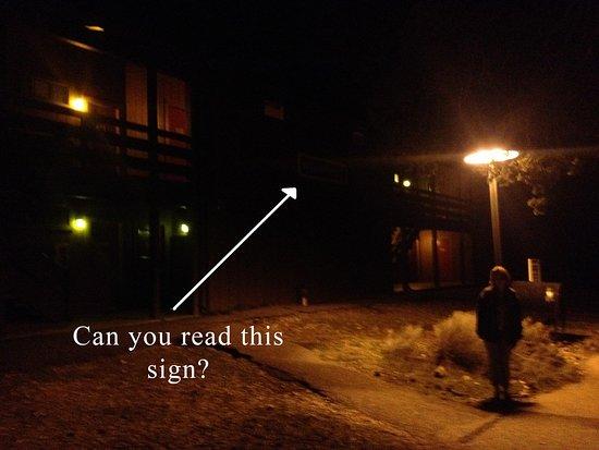 Maswik Lodge: Hard to find room at night