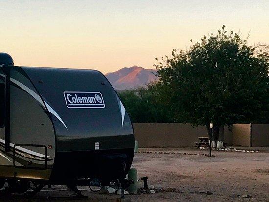 Benson, AZ: Surrounding desert mountain range.