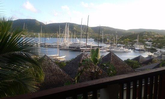 Falmouth, Antigua: View from balcony