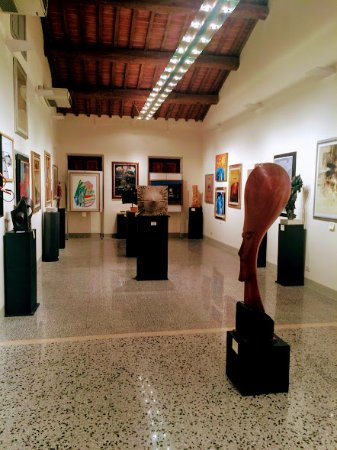 Civitella in Val di Chiana, Italy: Pinacoteca d'arte contemporanea