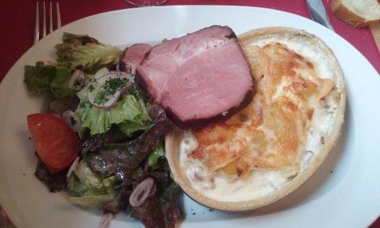 La Taverne Alsacienne : Voici la tartiflette