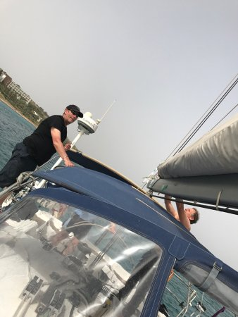 Ta' Xbiex, Malta: Have just come back from a great weekend sailing in Malta. The boat was fantastic along with the
