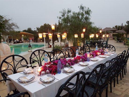 Restaurant les jardins de villa maroc essaouira omd men for Les jardins de villa maroc essaouira