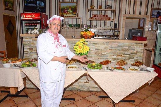 Rami Murad chef at Tsnim Restavracija, Kamnik Slovenia