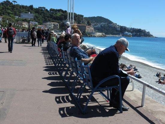 Sedie Blu Nizza : Le sedie blu foto di promenade des anglais nizza tripadvisor