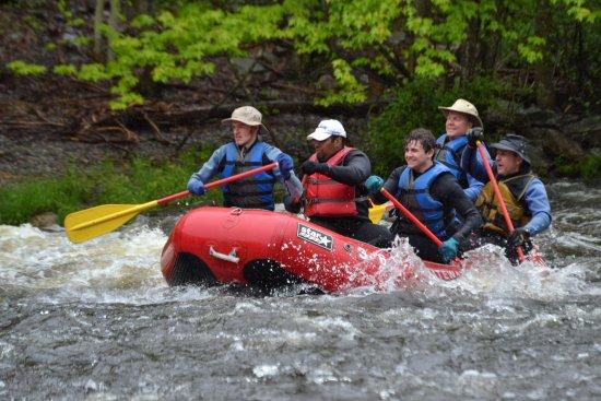 Weatherly, Pensilvania: May Dam Release